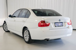 2007 BMW 3 Series E90 320i Steptronic White 6 Speed Automatic Sedan.