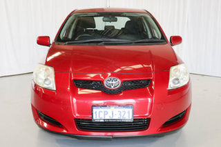 2007 Toyota Corolla ZZE122R 5Y Ascent Red 4 Speed Automatic Hatchback