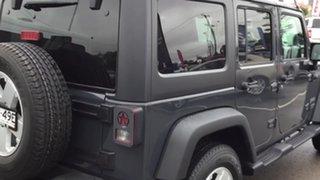 2017 Jeep Wrangler JK MY18 Unlimited Sport Grey 6 Speed Manual Softtop.