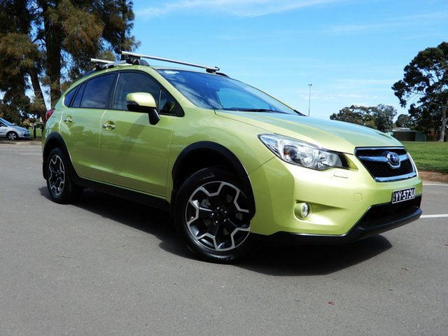Used Subaru XV G4X MY14 2.0i-S AWD, 2015 Subaru XV G4X MY14 2.0i-S AWD Plasma Green 6 Speed Manual Wagon