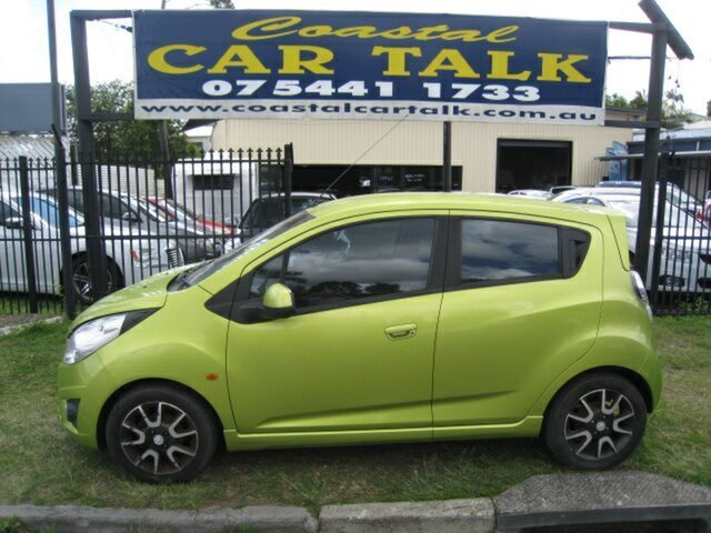 Used Holden Barina Spark  , 2010 Holden Barina Spark CDX Green 5 Speed Manual Hatchback