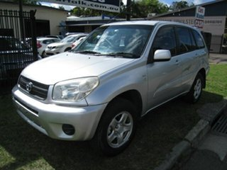 2003 Toyota RAV4 ACA20R Edge (4x4) Silver 5 Speed Manual 4x4 Wagon.