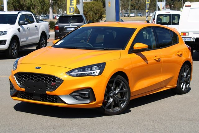 Used Ford Focus SA 2020.25MY ST, 2020 Ford Focus SA 2020.25MY ST Orange 6 Speed Manual Hatchback