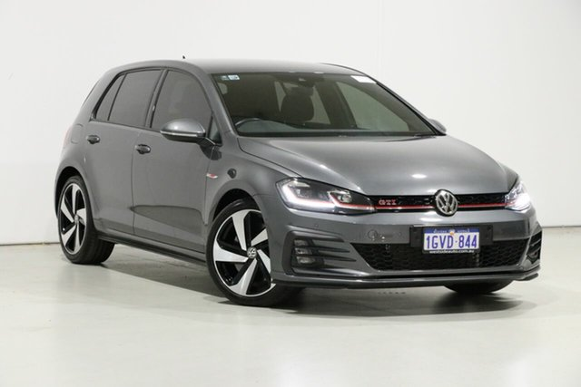 Used Volkswagen Golf AU MY19 GTi, 2019 Volkswagen Golf AU MY19 GTi Grey 7 Speed Direct Shift Hatchback