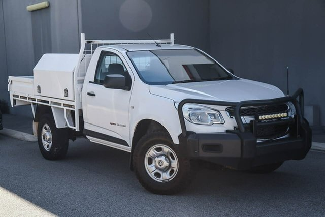Used Holden Colorado RG MY16 DX, 2016 Holden Colorado RG MY16 DX White 6 Speed Manual Cab Chassis
