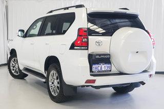 2020 Toyota Landcruiser Prado GDJ150R Kakadu White 6 Speed Sports Automatic Wagon.