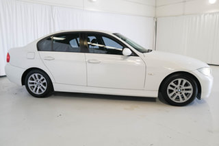 2007 BMW 3 Series E90 320i Steptronic White 6 Speed Automatic Sedan
