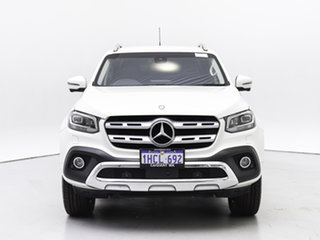 2018 Mercedes-Benz X-Class 470 250d Power (4Matic) White 7 Speed Automatic Dual Cab Pick-up.