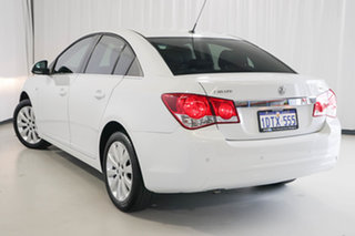 2011 Holden Cruze JH Series II MY11 CDX White 6 Speed Sports Automatic Sedan.