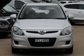 2011 Hyundai i30 FD MY12 SX Silver 4 Speed Automatic Hatchback