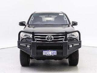 2018 Toyota Fortuner GUN156R MY18 GXL Black 6 Speed Automatic Wagon.