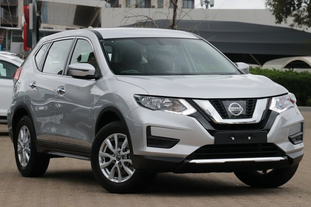 Used Nissan X-Trail T32 Series 2 ST 7 Seat (2WD) (5Yr), 2020 Nissan X-Trail T32 Series 2 ST 7 Seat (2WD) (5Yr) Brilliant Silver Continuous Variable Wagon