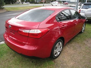 2013 Kia Cerato TD MY13 S Red 6 Speed Automatic Sedan