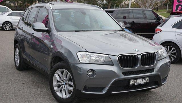 Used BMW X3 F25 MY1112 xDrive20i Steptronic, 2013 BMW X3 F25 MY1112 xDrive20i Steptronic Grey 8 Speed Automatic Wagon