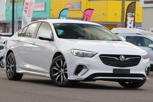 Used Holden Commodore ZB MY18 RS Liftback, 2018 Holden Commodore ZB MY18 RS Liftback White 9 Speed Sports Automatic Liftback