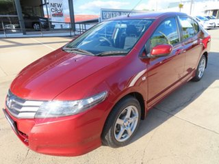 2009 Honda City VTi Red Automatic Sedan