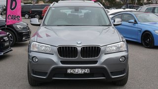 2013 BMW X3 F25 MY1112 xDrive20i Steptronic Grey 8 Speed Automatic Wagon.