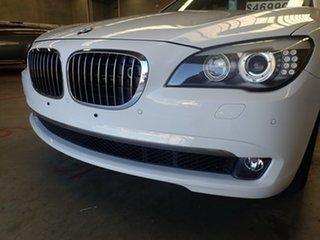 2009 BMW 750Li F02 White Diamond 6 Speed Auto Steptronic Sedan.