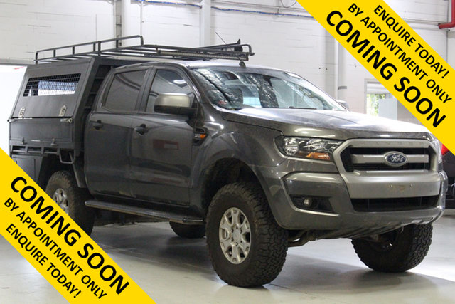 Used Ford Ranger PX MkII MY17 XLS 3.2 (4x4), 2017 Ford Ranger PX MkII MY17 XLS 3.2 (4x4) Grey 6 Speed Automatic Double Cab Pick Up
