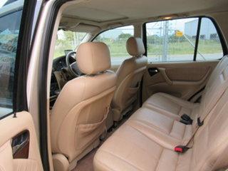 2001 Mercedes-Benz ML320 W163 ML320 Classic Gold 5 Speed Automatic Sedan