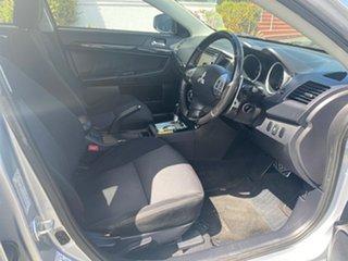 2015 Mitsubishi Lancer CJ MY15 GSR Sportback Cool Silver 6 Speed Constant Variable Hatchback