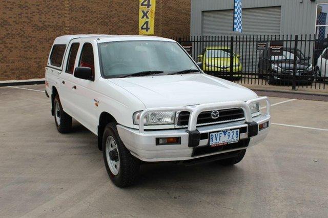 Used Mazda B2500  Bravo DX Cab Plus (4x4), 2002 Mazda B2500 Bravo DX Cab Plus (4x4) White 5 Speed Manual 4x4 Cab Chassis