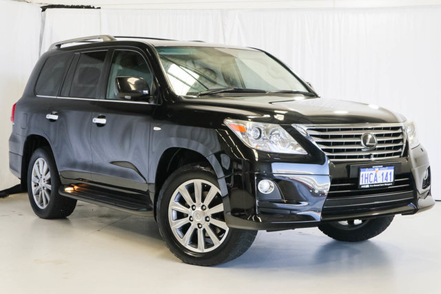 Used Lexus LX URJ201R MY10 LX570 Sports Luxury, 2010 Lexus LX URJ201R MY10 LX570 Sports Luxury Black 6 Speed Sports Automatic Wagon