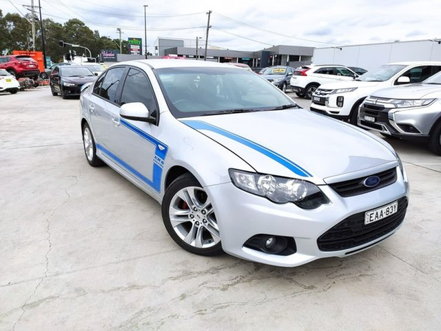 Used Ford Falcon FG MkII XR6, 2012 Ford Falcon FG MkII XR6 Silver 6 Speed Sports Automatic Sedan