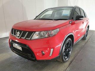 2017 Suzuki Vitara LY S Turbo 2WD Red 6 Speed Sports Automatic Wagon.