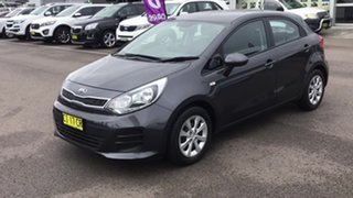 2016 Kia Rio UB MY16 S Brown 4 Speed Sports Automatic Hatchback