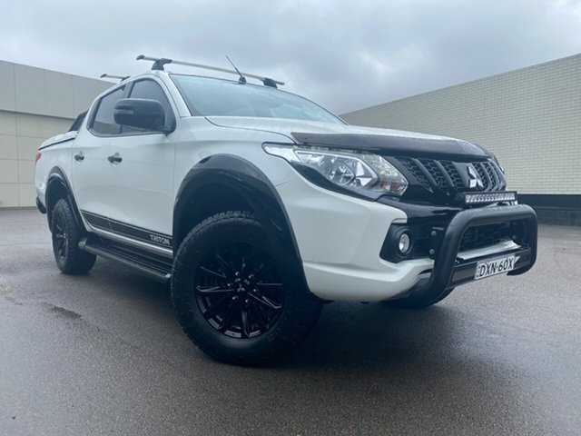 Used Mitsubishi Triton MQ MY18 GLS Double Cab, 2018 Mitsubishi Triton MQ MY18 GLS Double Cab Black 5 Speed Sports Automatic Utility