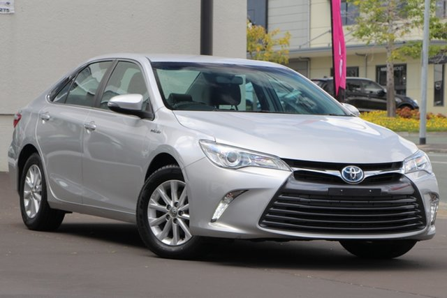 Used Toyota Camry AVV50R Altise, 2017 Toyota Camry AVV50R Altise Silver 1 Speed Constant Variable Sedan Hybrid