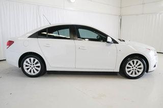 2011 Holden Cruze JH Series II MY11 CDX White 6 Speed Sports Automatic Sedan.