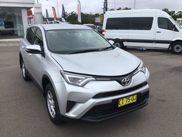 Used Toyota RAV4 ZSA42R GX 2WD, 2016 Toyota RAV4 ZSA42R GX 2WD Silver Pearl 7 Speed Constant Variable Wagon
