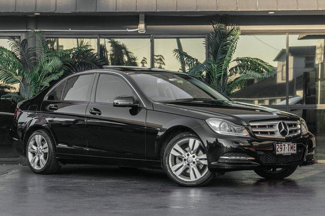 Used Mercedes-Benz C-Class W204 MY13 C200 BlueEFFICIENCY Estate 7G-Tronic +, 2013 Mercedes-Benz C-Class W204 MY13 C200 BlueEFFICIENCY Estate 7G-Tronic + Black 7 Speed