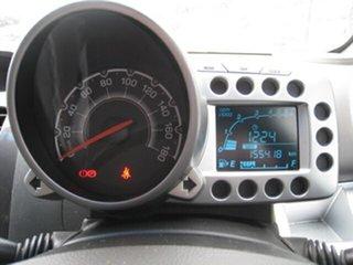 2010 Holden Barina Spark MJ CDX Green 5 Speed Manual Hatchback