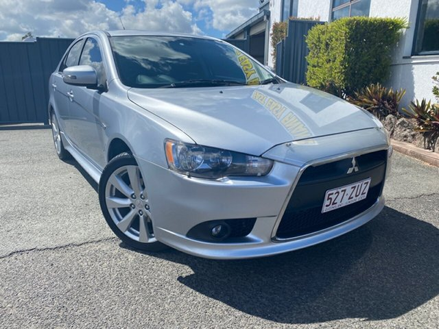 Used Mitsubishi Lancer CJ MY15 GSR Sportback, 2015 Mitsubishi Lancer CJ MY15 GSR Sportback Cool Silver 6 Speed Constant Variable Hatchback