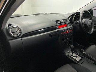 2006 Mazda 3 BK Maxx Sport Black 4 Speed Auto Activematic Sedan