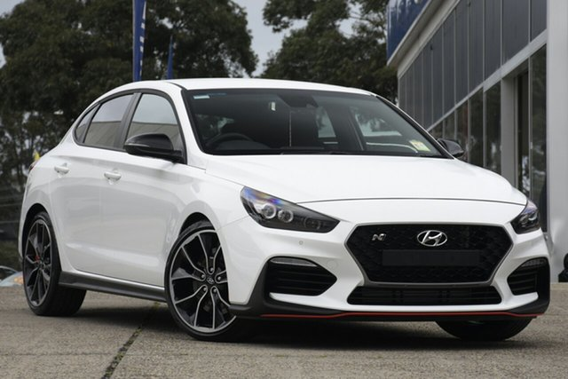 New Hyundai i30 PDe.3 MY20 N Fastback Performance, 2020 Hyundai i30 PDe.3 MY20 N Fastback Performance Polar White 6 Speed Manual Coupe