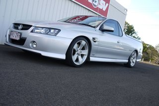 2006 Holden Ute VZ MY06 Thunder SS Silver 4 Speed Automatic Utility.