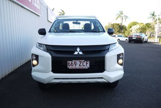 2019 Mitsubishi Triton MR MY19 GLX White 5 Speed Manual Cab Chassis