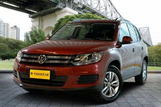 2013 Volkswagen Tiguan 5N MY13.5 118TSI 2WD Red 6 Speed Manual Wagon.