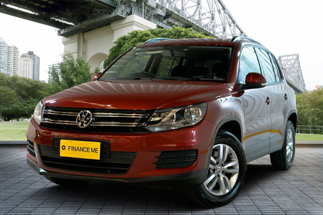 Used Volkswagen Tiguan 5N MY13.5 118TSI 2WD, 2013 Volkswagen Tiguan 5N MY13.5 118TSI 2WD Red 6 Speed Manual Wagon