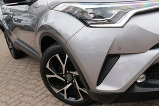 2017 Toyota C-HR NGX50R Koba Silver Continuous Variable Wagon.