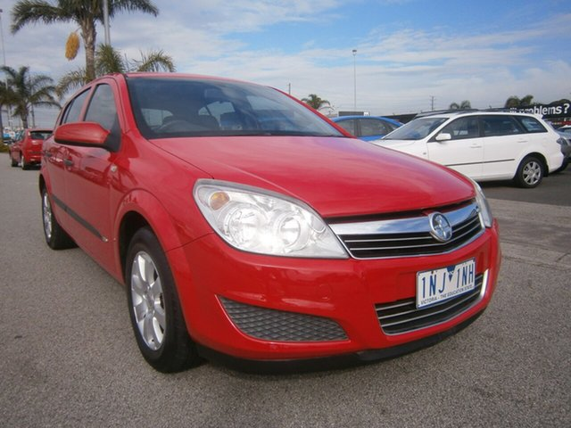 Used Holden Astra AH MY07 CD, 2007 Holden Astra AH MY07 CD Red 4 Speed Automatic Hatchback