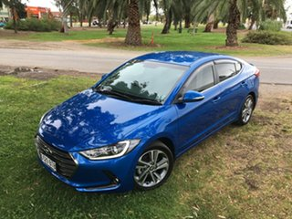 2017 Hyundai Elantra AD MY17 Elite Blue 6 Speed Sports Automatic Sedan.
