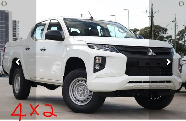 Demo Mitsubishi Triton MR MY20 GLX Double Cab ADAS, 2020 Mitsubishi Triton MR MY20 GLX Double Cab ADAS White 6 Speed Sports Automatic Utility