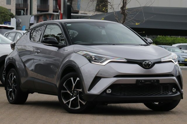 Used Toyota C-HR NGX50R , 2017 Toyota C-HR NGX50R Koba Silver Continuous Variable Wagon