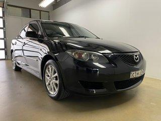 2006 Mazda 3 BK Maxx Sport Black 4 Speed Auto Activematic Sedan.