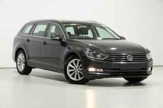 2018 Volkswagen Passat 3C MY18.5 132 TSI Comfortline Grey 7 Speed Auto Direct Shift Wagon.